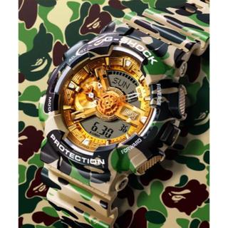 アベイシングエイプ(A BATHING APE)のG-shock 25周年(腕時計)