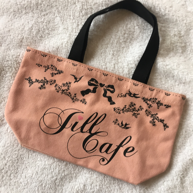 JILLSTUART(ジルスチュアート)の【ピンク】ジルカフェ限定♡トートバッグ♡ レディースのバッグ(トートバッグ)の商品写真