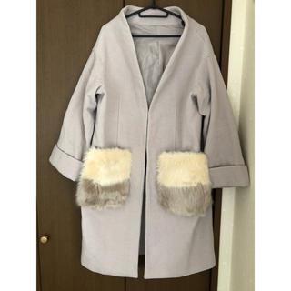 センス(SENSE)のSENSE コート 冬 ファー ポケット(ロングコート)