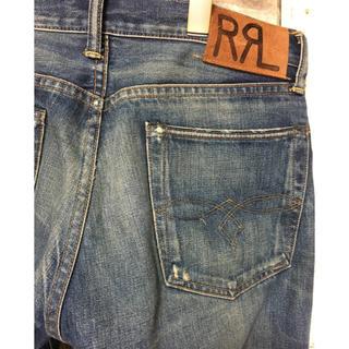 RRL ローストレート Low Straightジーンズ  W30