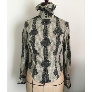 ヴィヴィアンウエストウッド(Vivienne Westwood)のレア☆大人気立ち襟フリルブラウス(シャツ/ブラウス(長袖/七分))