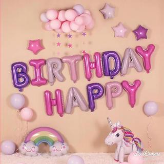 マイリトルポニー  誕生日 バルーン  パーティーグッズ 画像全部 風船 虹飾り