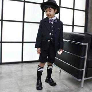 ユニクロ(UNIQLO)の卒園式 入学式 男の子 スーツ 120(ドレス/フォーマル)