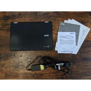 エイサー(Acer)のChromebook R11 C738T-A14N [ブラック] 美品/軽量(ノートPC)