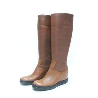 サヤ(SAYA)のSAYA 本革インヒールブーツ(23.5cm)超美品♪サヤ(ブーツ)