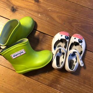メリッサ(melissa)のキッズ靴13サイズ/長靴とサンダル(長靴/レインシューズ)