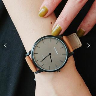 スリーフォータイム(ThreeFourTime)のThree Four Time 合皮ビッグウォッチ(腕時計)