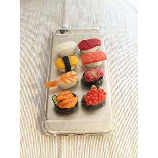 【一点物 売り切り】お寿司スマホケース iPhone 8/7/6/6s 送料無料(モバイルケース/カバー)