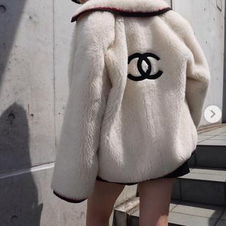 シャネル(CHANEL)の☆あきひめままっち 様 専用☆入手困難 シャネル ファー コート(毛皮/ファーコート)