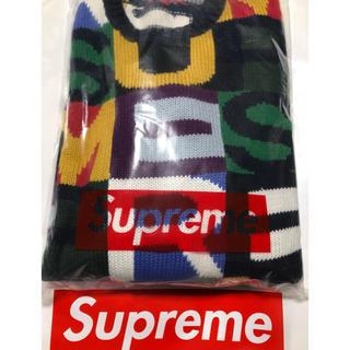 シュプリーム(Supreme)のsupreme  Big Letters Sweater(ニット/セーター)