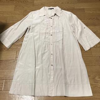 ニジュウサンク(23区)のシャツワンピース(シャツ/ブラウス(半袖/袖なし))