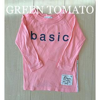 グリーントマト(GREEN TOMATO)のグリーントマト 長袖シャツ ロンT(Tシャツ/カットソー)