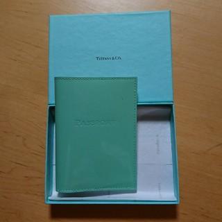 ティファニー(Tiffany & Co.)の☆最終値下げ☆Tiffany ティファニー パスポートケース 美品(旅行用品)