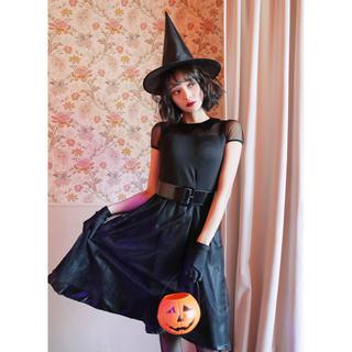 ハロウィン 魔女(衣装一式)