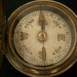 オメガ(OMEGA)の1910`S BRITISH WW1 OFFICERS COMPASS(腕時計(アナログ))