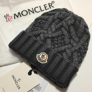 モンクレール(MONCLER)の☆即日発送します☆モンクレール新品未使用ニット帽☆☆(ニット帽/ビーニー)