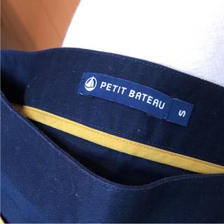 プチバトー(PETIT BATEAU)の美品 petitbateauスカート(ミニスカート)