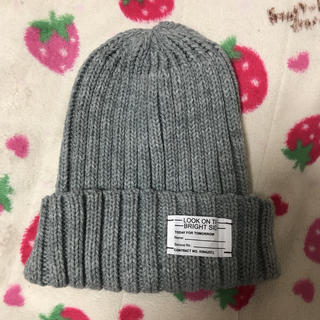 ジーユー(GU)のニット帽(ニット帽/ビーニー)