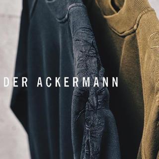 ハイダーアッカーマン(Haider Ackermann)のhaider ackermann 刺繍 スウェット rick owens(スウェット)