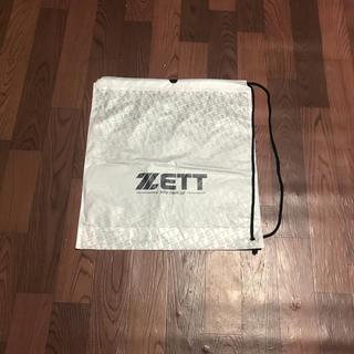 ゼット(ZETT)のゼット ショップ袋 2枚組 ショッピングバック ナップサック 巾着 デイバッグ(バッグパック/リュック)