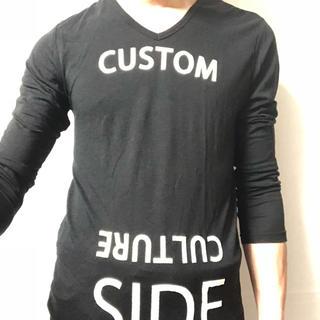 カスタムカルチャー(CUSTOM CULTURE)のカスタムカルチャー長袖Tシャツ(Tシャツ/カットソー(七分/長袖))