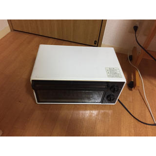 ムジルシリョウヒン(MUJI (無印良品))の【中古】無印良品 オーブントースター 2008年製(調理機器)