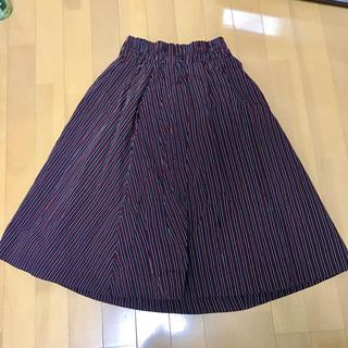 ダブルネーム(DOUBLE NAME)のストライプ 2wayスカート(ロングスカート)