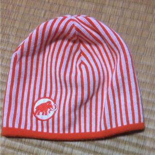 マムート(Mammut)のMAMMUT リバーシブル ニット帽(登山用品)