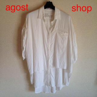 アゴストショップ(AGOSTO SHOP)のagost shopで購入 シャツ M(Tシャツ(半袖/袖なし))