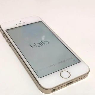 アップル(Apple)の【極美品】iPhone 5s Gold 32 GB Softbank(スマートフォン本体)