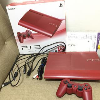 プレイステーション3(PlayStation3)のPS3 PlayStation3 250GB ガーネットレッド(家庭用ゲーム機本体)