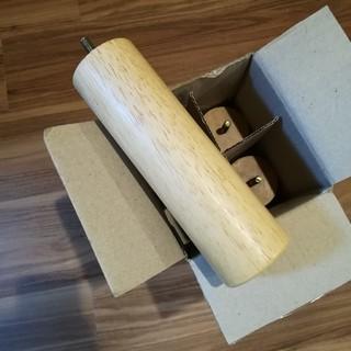 ムジルシリョウヒン(MUJI (無印良品))の無印良品 ベッド 脚 20cm(その他)