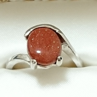 新品未使用 美品 リング 指輪 オシャレなデザイン 女性用 サイズ21号79(リング(指輪))