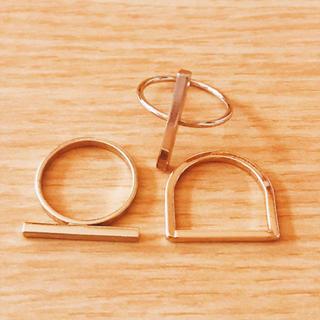 ジーユー(GU)の指輪 ゴールド(リング(指輪))