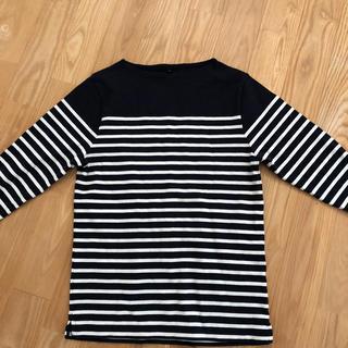 ムジルシリョウヒン(MUJI (無印良品))のMUJ I ボーダーT(Tシャツ/カットソー(七分/長袖))