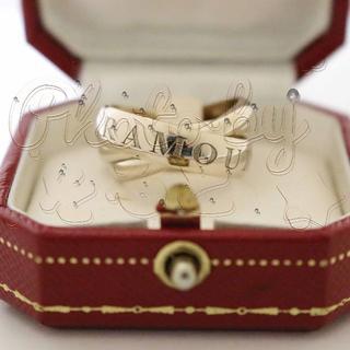 カルティエ(Cartier)のカルティエ ホワイトゴールド トリニティ リング 限定(リング(指輪))
