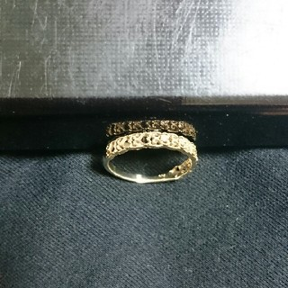 k10イエローゴールドダイヤ0、02リング(リング(指輪))
