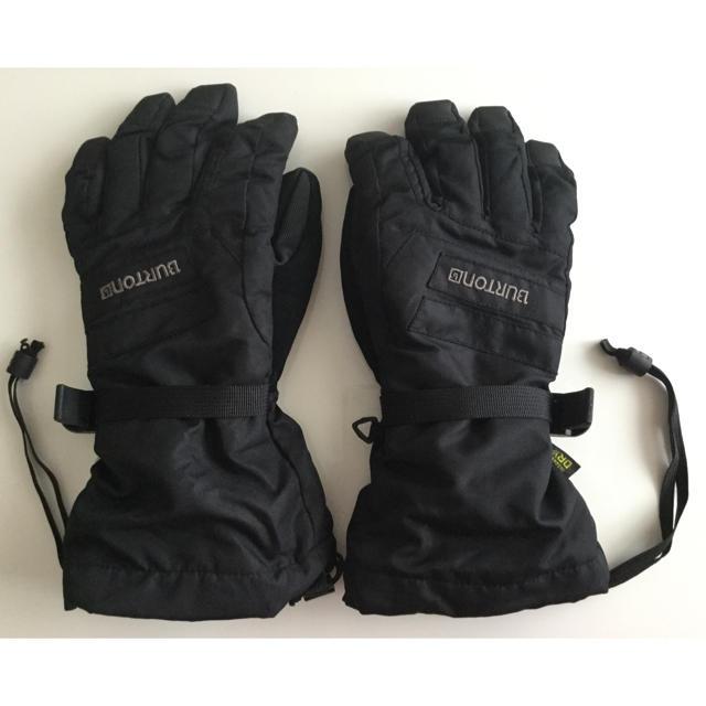 BURTON(バートン)の美品☆BURTON スキー、スノボ キッズ 手袋 グローブ スポーツ/アウトドアのスノーボード(ウエア/装備)の商品写真