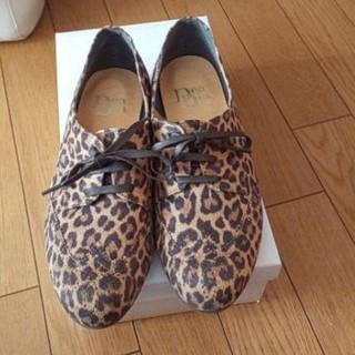 デアディア(DeaDia)のDeaDia レオパード柄 靴(スリッポン/モカシン)