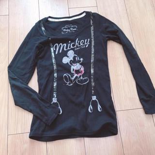 ディズニー(Disney)のミッキー♡ロングTシャツ(Tシャツ(長袖/七分))