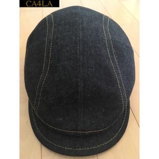 カシラ(CA4LA)のCA4LA ハンチング デニム生地(ハンチング/ベレー帽)
