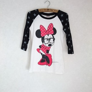 ディズニー(Disney)のミニープリント ラグランロンTシャツ(Tシャツ(長袖/七分))