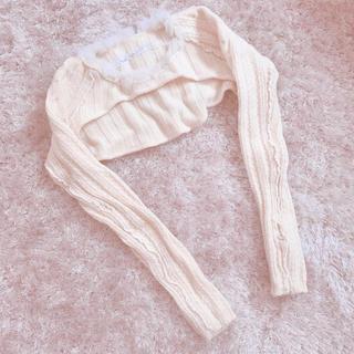 アリスアウアア(alice auaa)の期間限定出品 White tops(ニット/セーター)