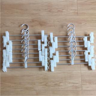 ムジルシリョウヒン(MUJI (無印良品))の無印 ボトムスハンガー(押し入れ収納/ハンガー)