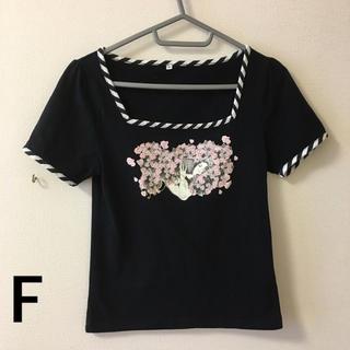チョイス(CHOICE)の305)F美品チョイスCHOICEストレッチTシャツ(Tシャツ(半袖/袖なし))