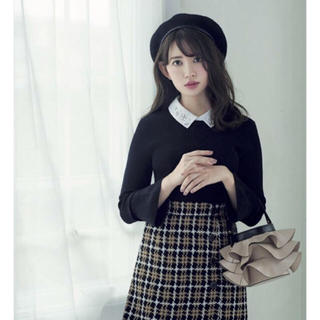 リランドチュール(Rirandture)のリラ♡ チェック台形スカート(ミニスカート)