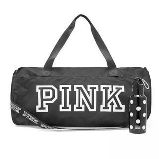 ヴィクトリアズシークレット(Victoria's Secret)の売り切り価格‼️PINK 非売品バッグ&ドリンクホルダー 新品未使用(ボストンバッグ)