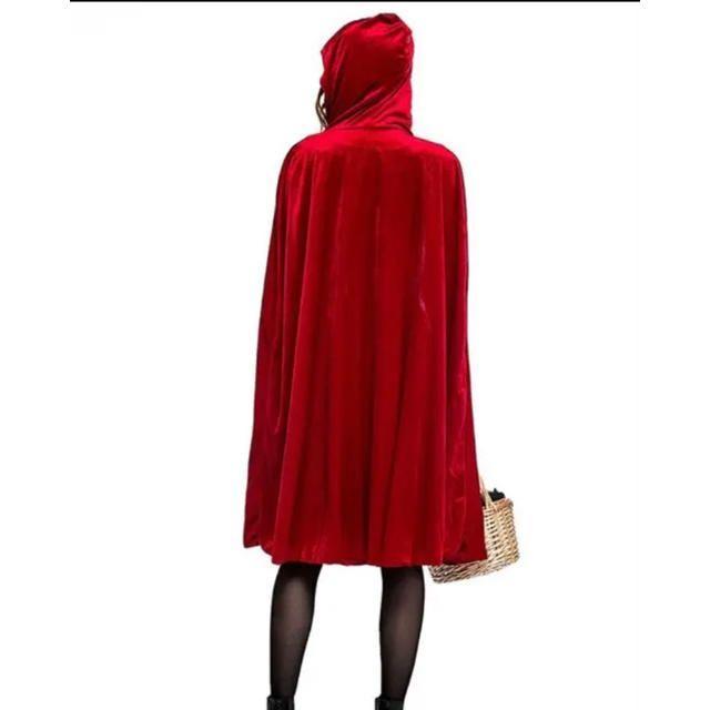 ☆ハロウィン☆ 赤ずきんコスプレ♡ 仮装 衣装 Lサイズ エンタメ/ホビーのコスプレ(衣装一式)の商品写真