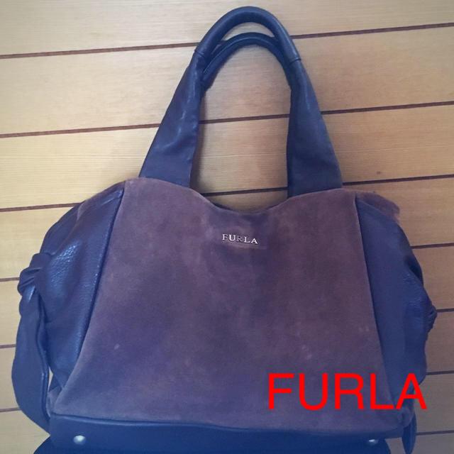 e798e7bc1def Furla - フルラ FURLA サイドリボントートバッグの通販 by まゆ's shop ...