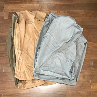 MUJI (無印良品) - ☆無印良品☆体にフィットするソファーカバー2枚